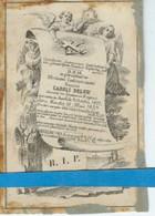 Caroli Deleu  O Rumbeke 1822  + Moorslede 1849 - Andachtsbilder