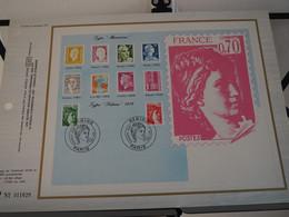 France Feuillet CEF - Premier Jour - FDC Sabine De Gandon (1,20 F Et 1,40 F) - Premier Jour, Paris (01/08/1980) - 1980-1989