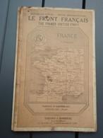 Ancienne Carte Du Front Français 1914-1918. - 1914-18
