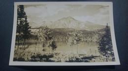 CP VERITABLE PHOTO REAL PHOTO PYRAMID MOUNTAIN  FROM LAKE EDIT. JASPER PARK  G. MORRISS TAYLOR CANADA - Jasper