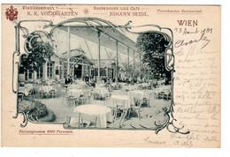 WIEN Etablissement K.k. Volksgarten Café-Restaurant Johann Seidl   2020 Nov 959 - Altri