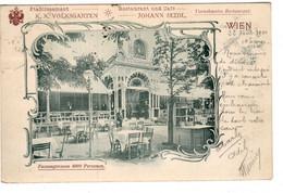 WIEN Etablissement K.k. Volksgarten Café-Restaurant Johann Seidl   2020 Nov 961 - Altri
