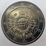 ET20012.1 - ESTONIE - 2 Euros Commémo. 10 Ans De L'euro - 2012 - Estonia
