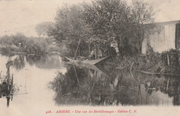 CPA AMIENS - UNE VUE DES HORTILLONNAGES - Amiens