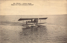 Var, Frejus, Aviation, Hydravion, Depart D Un Breguet   (bon Etat) - Frejus