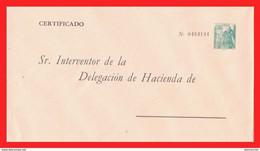 ESPAÑA SOBRE FRANQUEADO CON 1.80 Ptas. DEL AÑO 1948 - Franquicia Militar
