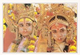Inde Bénarès Evocation Du Ramayana  (carte écrite édition ATLAS) - India