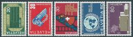 1970 SVIZZERA PROPAGANDA MNH ** - RD17-5 - Unused Stamps