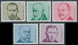 1971 SVIZZERA PERSONAGGI CELEBRI MEDICI E SCIENZIATI MNH ** - RD17-6 - Unused Stamps