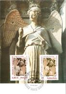 Carte Maximum émission Commune YT 4059 France Et Arménie 542 1er Jour TBE Ange Au Sourire Cathédrale De Reims 22 05 2007 - 2000-09