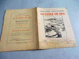 65-HISTOIRE ILLUSTRÉE  GUERRE DE 1914- BATAILLE DE CHARLEROI - CHUTE DE NAMUR-RUINES NAMUR HOTEL DE VILLE - French