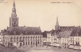 Armentières , France, 1900-1910's; Place Et Mairie - Armentieres