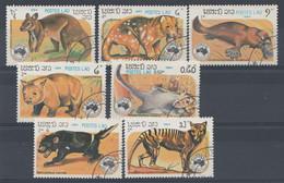 Laos 1984  Mi.nr: 780-786 Briefmarkenausstellung    Oblitérés / Used / Gest. - Laos