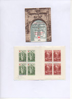 """FRANCE. 1970.  2 CARNETS Dont VARIETE.""""FRESQUES CHAPELLE DISSAY"""".THEMES:CROIX-ROUGE.ARTS.RELIGION. - Red Cross"""