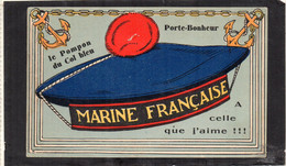 MARINE FRANCAISE Le Pompon Du Col Bleu Porte-Bonheur - Uniforms