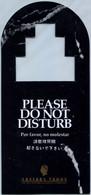 Caesars Tahoe - Please Do Not Disturb (Recto-Verso) - Hotel Labels