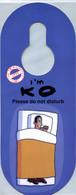Executive Extravaganza (1997) - I'm KO Please Do Not Disturb (Recto-Verso) - Hotel Labels