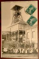 Carte Postale Ancienne-  Fosse De La Bleuse Borne-Mines D'ANZIN-Valenciennes - Miniere