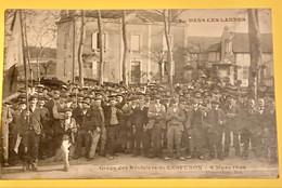 DANS LES LANDES - GREVE DES RESINIERS DE LESPERON 9mars 1906 - Ohne Zuordnung