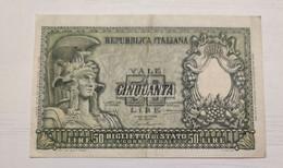 50 Lire 1951 - 50 Lire