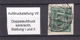 Oberschlesien - 1920 - Dienstmarken - Aufdruckstellung VII - Gestempelt - Coordination Sectors
