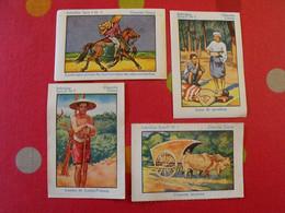 "4 Images Album Chocolat Cémoi ""album N° 4 Indochine"". Lot 433. Vers 1960. - Other"