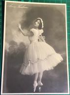 Anna Pavlova ~ Russian Ballerina ~ Mayfair Postcards Of London No. 253 - Dans