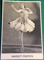 Margot Fonteyn ~ Ballerina ~ Mayfair Postcards Of London No. 258 - Dans