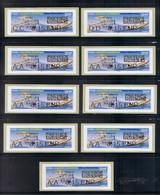 9 Atms, NABANCO Avec Code Datamatrix,  CC/ DD/ AA/ IP, E-max, VELIZY-VILLACOUBLAY. Avion Bréguet XIV Et Falcon 2000. - 2010-... Viñetas De Franqueo Illustradas