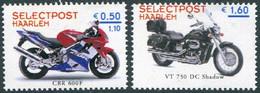 MOTORCYCLE Netherlands Selectpost Haarlem Local Private Post Motorbike Cycling Moto Bike Motorrad Nederland Stadspost - Motorräder