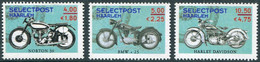 MOTORCYCLE Netherlands Selectpost Haarlem LIGHT BLUE Local Private Post Motorbike Cycling Motorrad Nederland Stadspost - Motorräder
