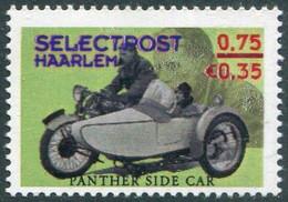 MOTORCYCLE Netherlands Selectpost Haarlem YELLOW GREEN Local Private Post Motorbike Cycling Motorrad Nederland Stadspost - Motorräder