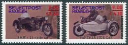 MOTORCYCLE Netherlands Selectpost Haarlem LILAC BROWN Local Private Post Motorbike Cycling Motorrad Nederland Stadspost - Motorräder