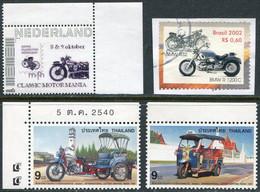 MOTORCYCLE Netherlands Nederland Niederlande Pays-Bas Thailand Thaïlande Brazil Brasilien Brésil Motorbike Cycling - Motorräder