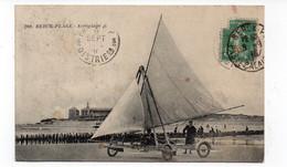 62  - BERCK-PLAGE - Aéroplage - Animée - 1916 (X140) - Berck