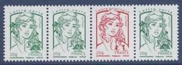 N° 4774d 4774c 4767b & 4774a Marianne De Ciappa Du Feuillet 4774A - 2013-... Marianne Of Ciappa-Kawena