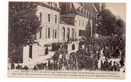 35 - RENNES - La Place Lices - Occupe L'emplacement Du Champ Clos Du Moyen-âge, Où Se Batit Du Guesclin -  Animée (X142) - Rennes