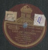 "37 ) 78 Tours 30cm  ODEON 121001  "" LOS DE ARAGON ""  + "" LOS DE ARAGON ""  Emilio VENDRELL - 78 G - Dischi Per Fonografi"