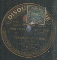 """40 ) 78 Tours 30cm  PAHE 3121  """" L'ANGELUS DE LA MER """"  + """" LE CREDO DU PAYSAN """"  M. NOTE - 78 G - Dischi Per Fonografi"""