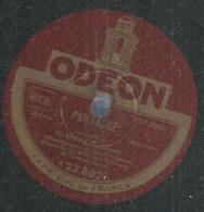 """41 ) 78 Tours 30cm  ODEON 123802  """" PAILLASSE """"  + """" LAKME """"  M. ENDREZE - 78 G - Dischi Per Fonografi"""