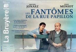 CPM - M - PARIS - THEATRE LA BRUYERE - LES FANTOMES DE LA RUE PAPILLON - AVEC MICHEL JONASZ ET EDDY MONIOT - Théâtre