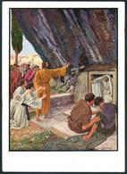 E3737 - Hans Lietzmann Künstlerkarte - Auferweckung Des Lazarus - Verlag Preuss. Haupt Bibelgesellschaft Berlin - Paintings, Stained Glasses & Statues
