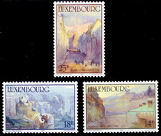 Luxembourg 1214/16** MNH Culturelle Tableaux - Unused Stamps