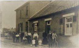 Mechelen Carte Photo à Identifiée Ecrit Le 8 -8-1915. - Maasmechelen