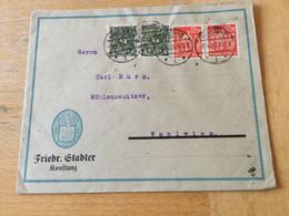 170 Deutsches Reich 1923 Firmenbrief Von Konstanz - Lettres & Documents