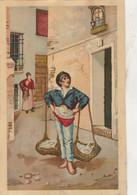 Très Ancienne Gravure Décollée D'un Album De Chromo ( 1900 ) 195mm X 125mm - 16/20 - Other