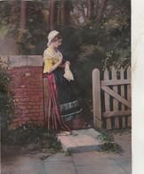 Très Ancienne Gravure Décollée D'un Album De Chromo ( 1900 ) 200mm X 150mm - 16/20 - Other