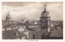 ROMA - VENERABILE COLLEGIO INGLESE / VENERABLE ENGLISH COLLEGE- LA TORRE DELL'OROLOGIO / THE CLOCK TOWER - 1935 - Education, Schools And Universities