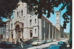 LA SPEZIA - CHIESA N.S. DELLA NEVE - AUTO D'EPOCA CARS VOITURES FIAT 600 850 500 ALFA ROMEO GIULIA GT - VIAG 1971 - La Spezia