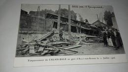 CARTE AILLY SUR SOMME TAMPONNEMENT DU CALAIS BALE JUILLET 1906 EDITE O HACQUART - Altri Comuni